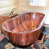 Ванны из дерева