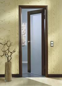 Как правильно установить дверь внутри помещения?