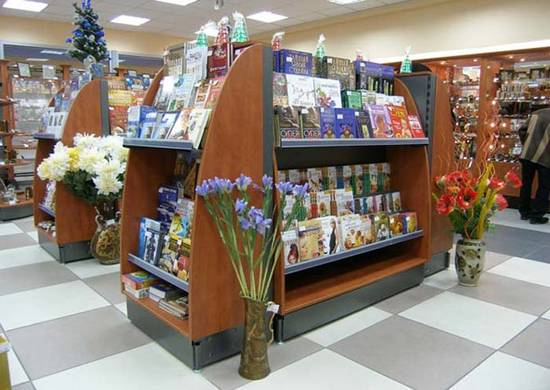 торговое оборудование для книг