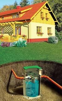 Организация автономной канализационной системы с применением септика