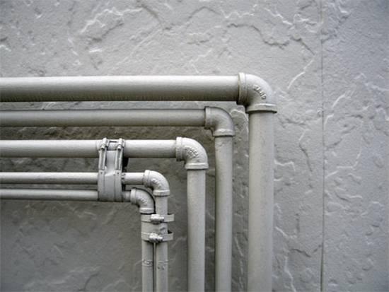 Трубы для ванной и туалета