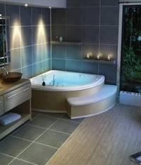 Угловые ванны – виток дизайнерского прогресса