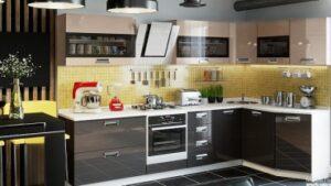 Преимущества изготовления кухни на заказ